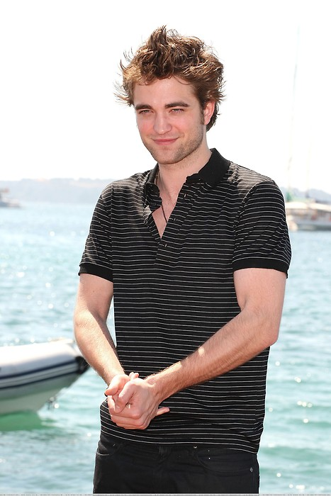 And last but most certainly not least Robert Pattinson in Cannes.