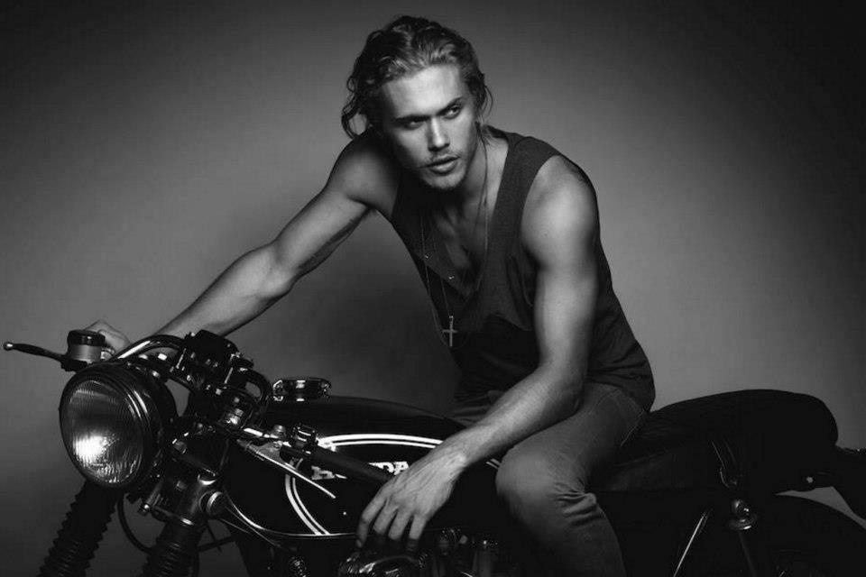Sexy biker guys