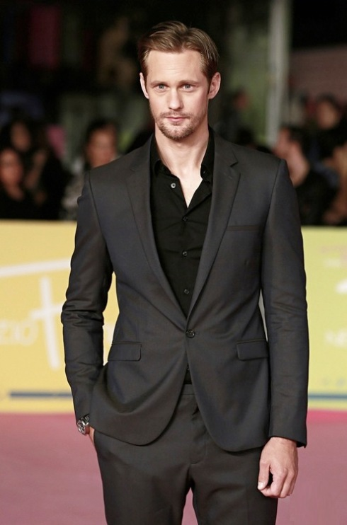 Actor Alexander Skarsgard attends the 2012 RomaFictionFest closing ceremony held at Auditorium Parco Della Musica in Rome