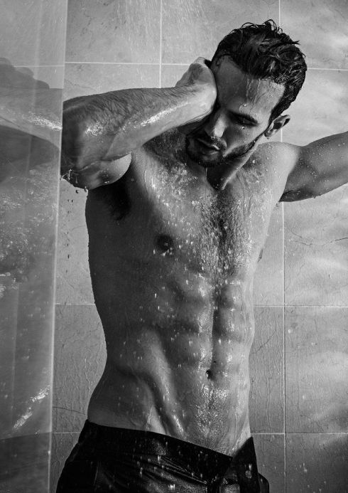 Adam Cowie shower