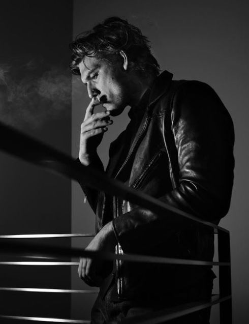 Alex Pettyfer by Rankin
