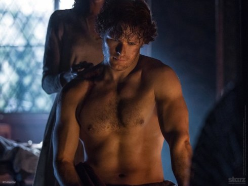 Jamie Fraser (Sam Heughan) - Outlander TV Series
