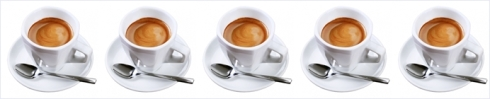 five espressos