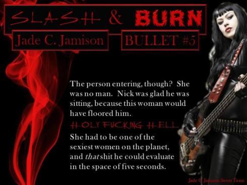 Slash and Burn holy effing hell