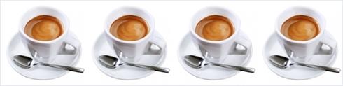 four espressos